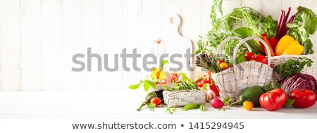 Fresh vegetables and legumes Stock photo © BarbaraNeveu