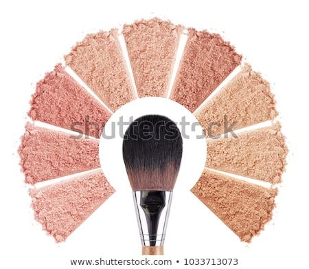 Smink szett alap krém izolált paletta Stock fotó © manera