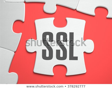 ssl   puzzle on the place of missing pieces stock photo © tashatuvango