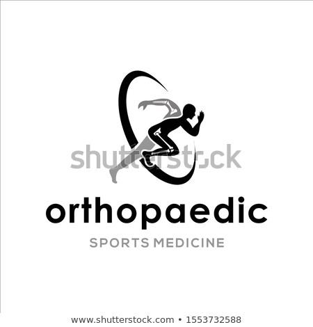 Procedimiento médico médicos pastillas jeringa atención selectiva 3D Foto stock © tashatuvango