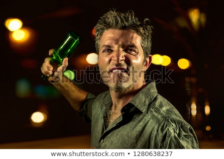 Thug Man with Hammer Stock photo © fouroaks