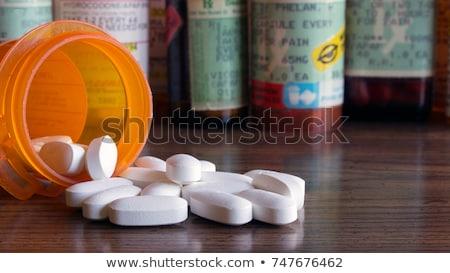 drogas · prescripción · salud · riesgo · médicos · crisis - foto stock © lightsource