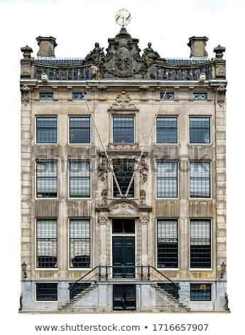 Foto stock: Garfo · Amsterdam · luxo · mansão · canal · Holanda
