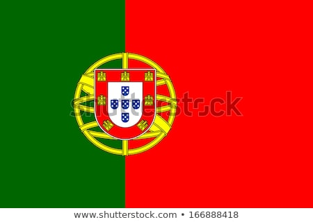 Португалия флаг белый фон знак зеленый Сток-фото © butenkow
