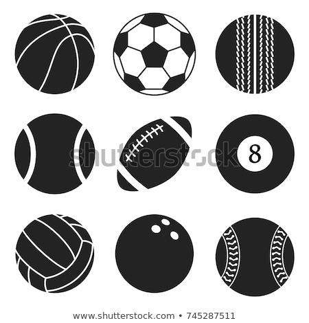 sportok · ikonok · vonal · vektor · weboldal · bemutató - stock fotó © adrian_n