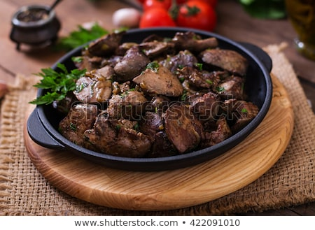 Stock photo: Fried liver