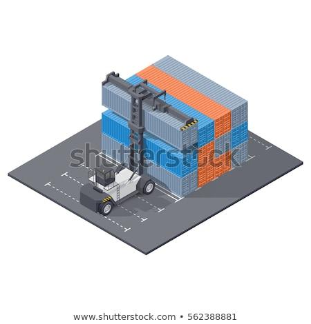 marinha · isométrica · 3D · elemento · mar · expedição - foto stock © studioworkstock