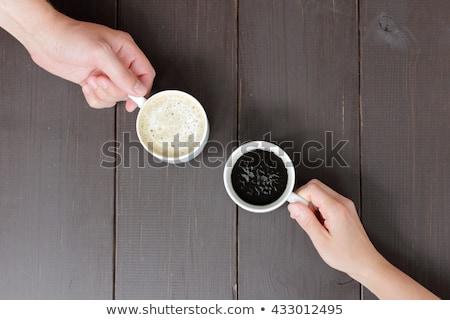 コーヒー 創造 写真 カップ 豆 インスタントコーヒー ストックフォト © Fisher