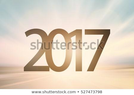 Soyut beyaz renk gökyüzü yılbaşı Stok fotoğraf © ESSL