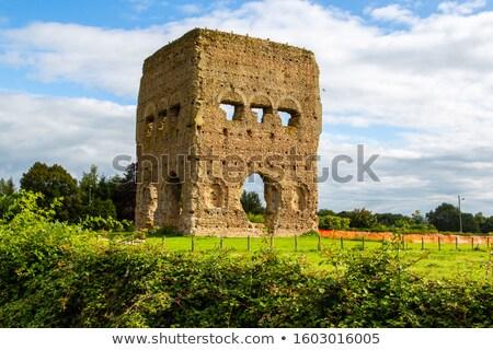 Janus Temple in Autun Stock photo © Hofmeester