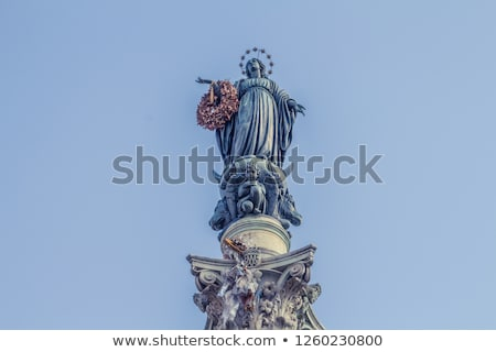 Column of the Immaculate Conception Stock photo © Givaga