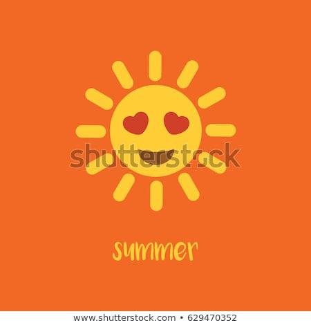 Сток-фото: пляж · лет · праздников · чате · знак · символ