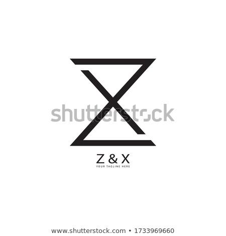 x or z letter symbol logo logotype vector Stock photo © blaskorizov