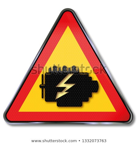Attention engine, electrics and transmission damage Stock photo © Ustofre9