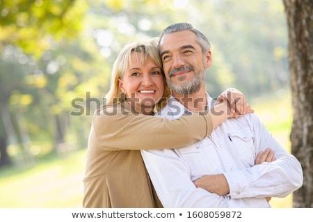 пожилого · пару · здорового · вместе · женщину - Сток-фото © kzenon