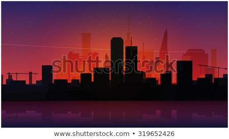 современных Cityscape город тихий города Сток-фото © robuart