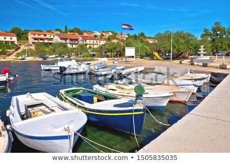 島 水辺 表示 地域 クロアチア ストックフォト © xbrchx