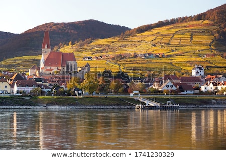 view of Danube river, Austria Stock photo © borisb17