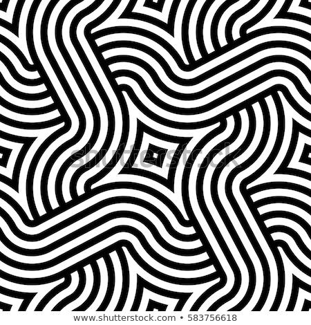 бесшовный геометрическим рисунком Creative вектора бесконечный Сток-фото © ExpressVectors