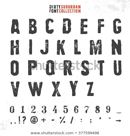 Collection of rubber stamps abc Stock photo © 5xinc