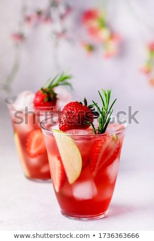 Vers zomer limonade citrus citroen kalk Stockfoto © karandaev