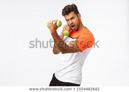 Bonito eriçar desgaste esportes tshirt Foto stock © benzoix