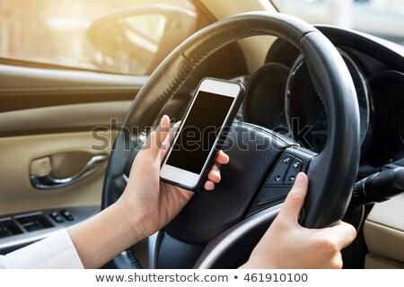 Nő GPS térkép közelkép személyek kéz Stock fotó © AndreyPopov