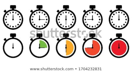 Cronógrafo temporizador hora cuenta atrás negocios reloj Foto stock © yupiramos