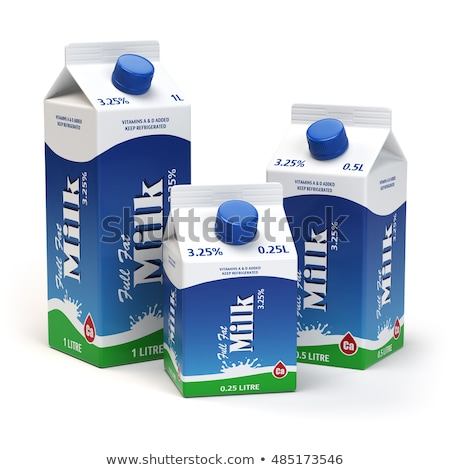 Package of Milk in Carton Pack, Dairy Products Stock photo © robuart