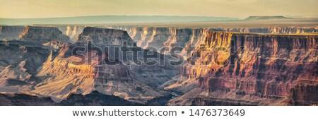 Grand Canyon banner natuur landschap steil Stockfoto © Maridav