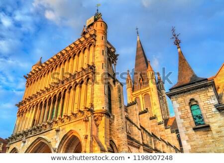 cathedral of dijon Stock photo © chrisroll