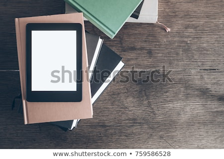Ebook lector vacío Screen blanco 3D Foto stock © magraphics