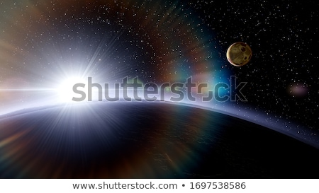 earth 2 stock photo © morrbyte
