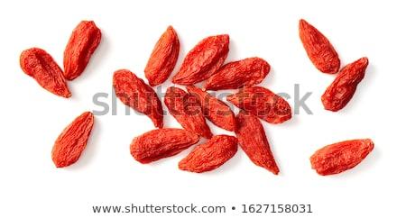 Stockfoto: Goji Berries Background