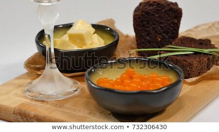 皿 赤 魚 ブラウン パン ストックフォト © vlaru