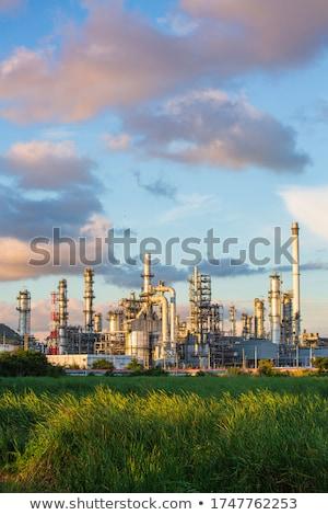 Olio chimica raffineria produzione petrolio prodotti Foto d'archivio © deyangeorgiev