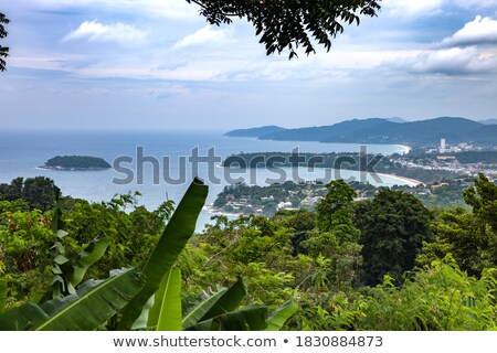 Ver mar costa madrugada phuket ilha Foto stock © moses