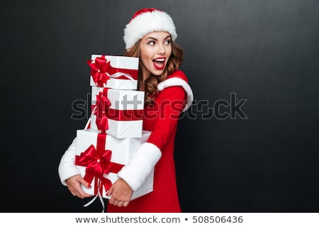 woman in a santa outfit stock photo © photography33
