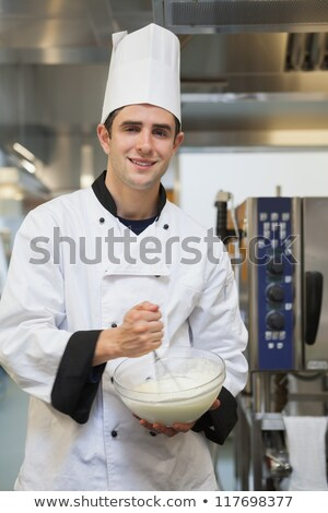 Man whisking batter Stock photo © photography33