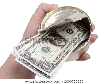 paper currency in tin can Stock photo © jirkaejc