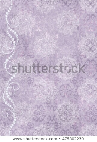 decorativo · preto · renda · isolado · branco · textura - foto stock © neirfy