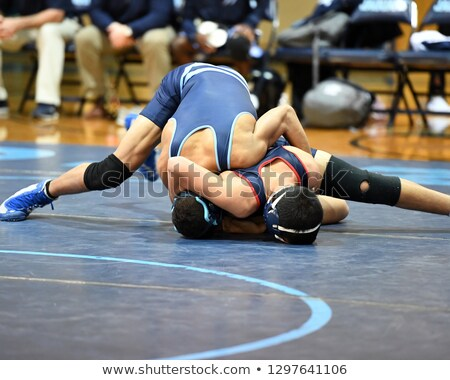 Stock photo: Athlete Wrestlers