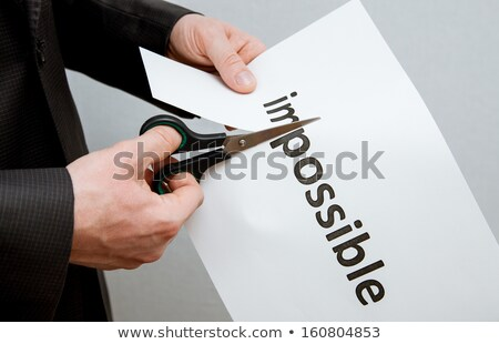 The decision of financial problems. Stock photo © grechka333