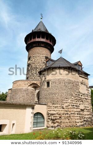 средневековых форт подробность город стен Сток-фото © aladin66