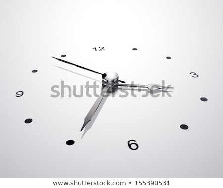 clock in perspective view Stock photo © m_pavlov