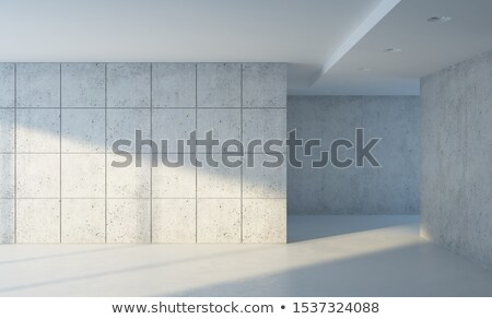 Perspective of Modern Architecture Background, Gallery space hal Stock photo © Victoria_Andreas