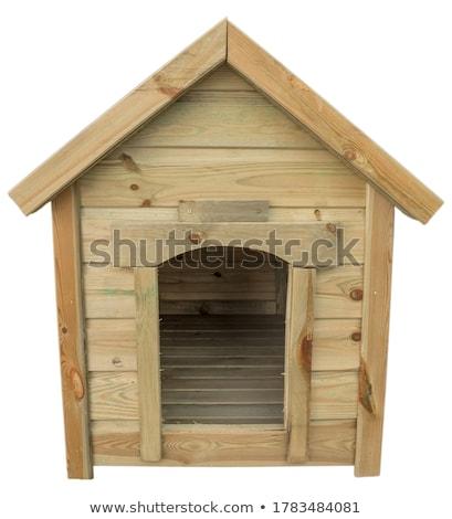 wooden planks laid horizontally, the background Stock photo © RuslanOmega