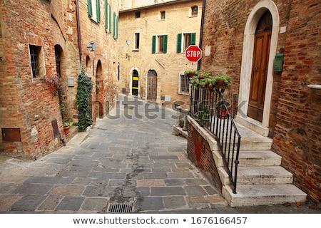 The medieval town of Pienza Stock photo © wjarek