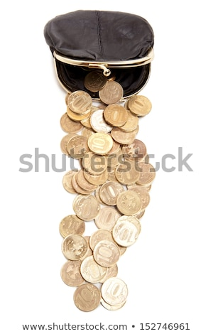 leather moneybag Stock photo © prill
