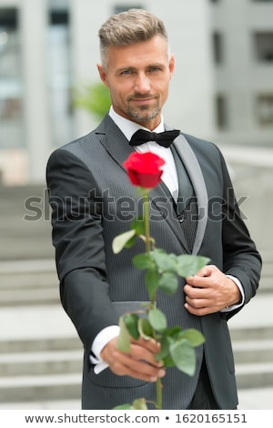 Stock photo: Rose for my darling